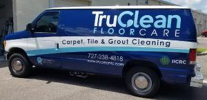 Broken Arrow Vinyl Printing Vehicle Wrap Tru Clean 300x146