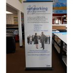 Tulsa Trade Show Displays banner vinyl tradeshow retractable indoor 150x150